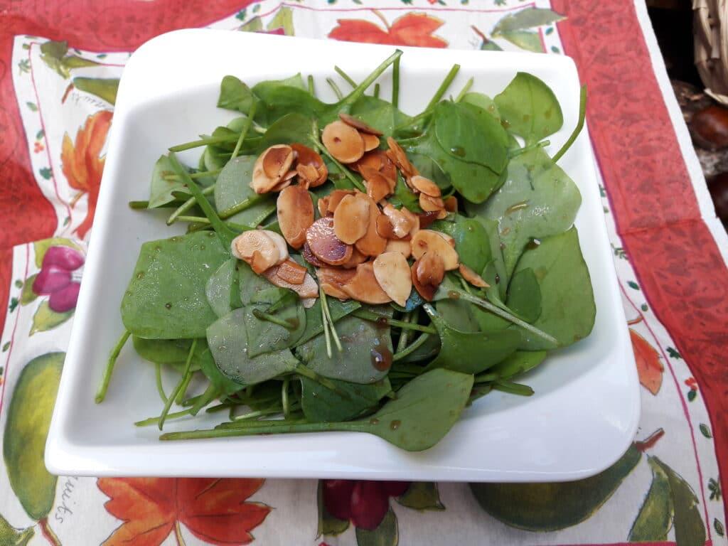 Winterportulak als Salat